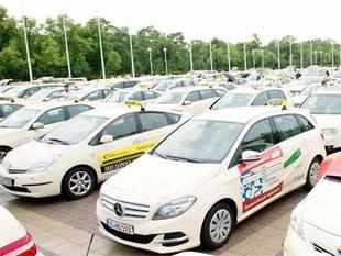 OLA Cabs over 40000 cabs