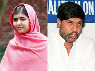 Malala & Kailash, winners of Nobel Peace Prize