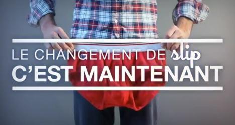 Le changement de slip, par le Slip Français