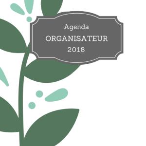 agenda organisateur 2018
