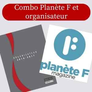 combo organisateur Planète F