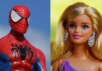 jouets-barbie-spiderman