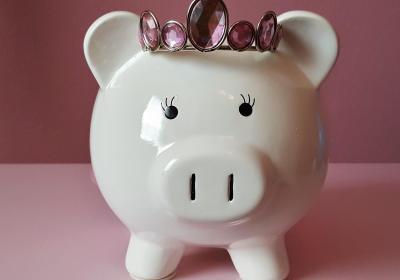 tirelire cochon argent de poche