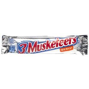 3 Musketeers Bar