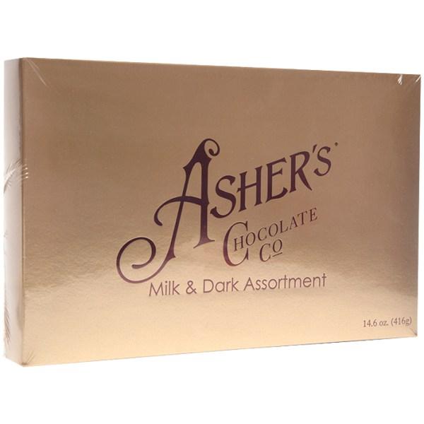 Asher's Chocolate Co - Milk & Dark Assortment