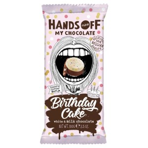 Hands Off My Chocolate - Birthday Cake