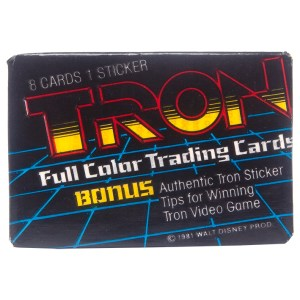 1981 Donruss Tron Full Color Trading Cards