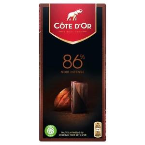 Côte D'or - 86% Noir Intense