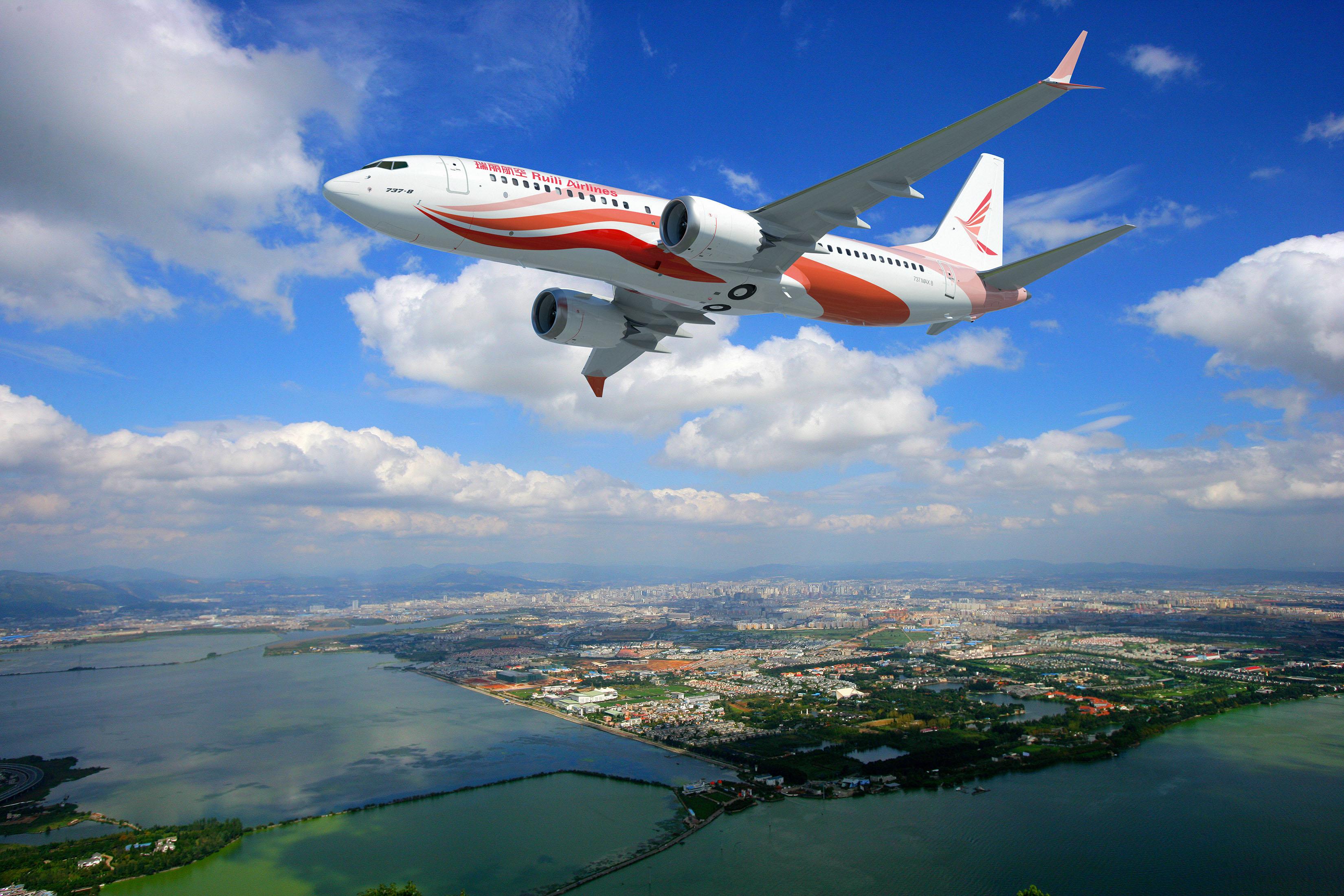 Resultado de imagen para Ruili Boeing MAX