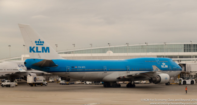 KLM Boeing 747-400, Image - Economy Class and Beyond