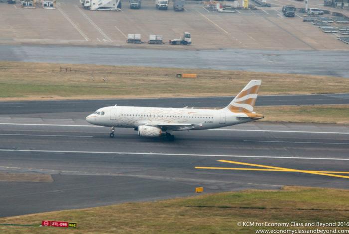 British Airways Dove A319