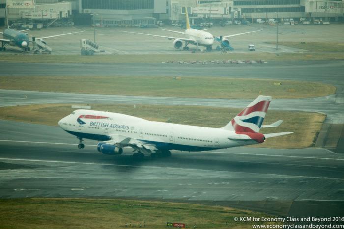 British Aieways Boeing 747-400