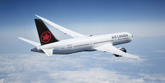 Air Canada New Livery