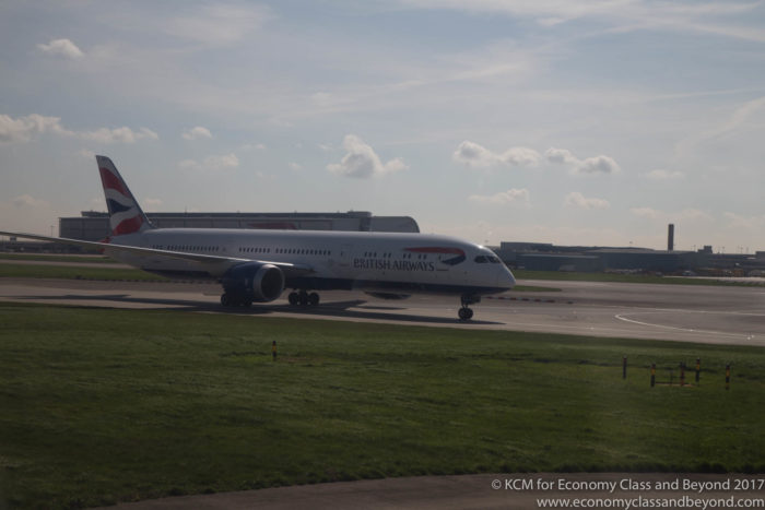 British Airwaya Boeing 787