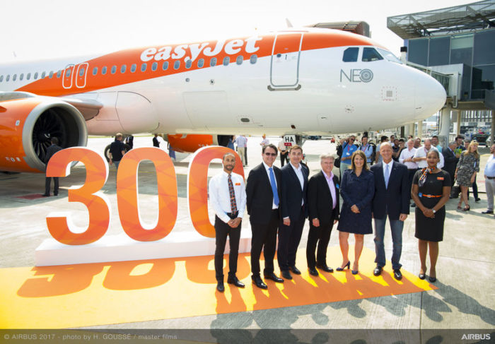 EasyJet A320neo first delivery - Image, Airbus