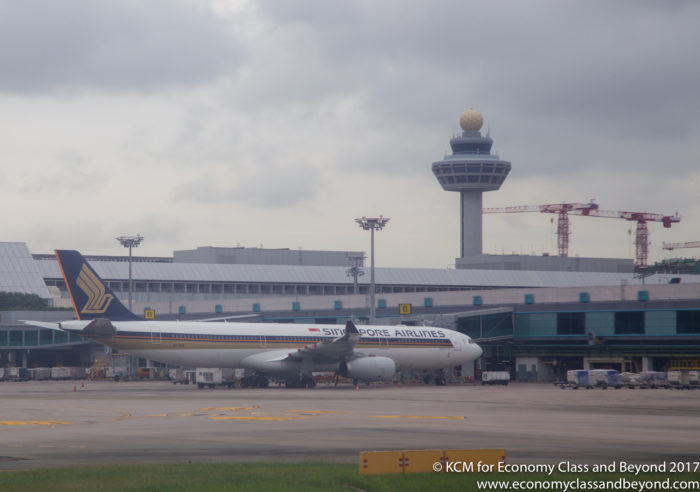 Sinapore Airlines Airbus A330-300 at Singapore Changi - Image, Economy Class and Beyond