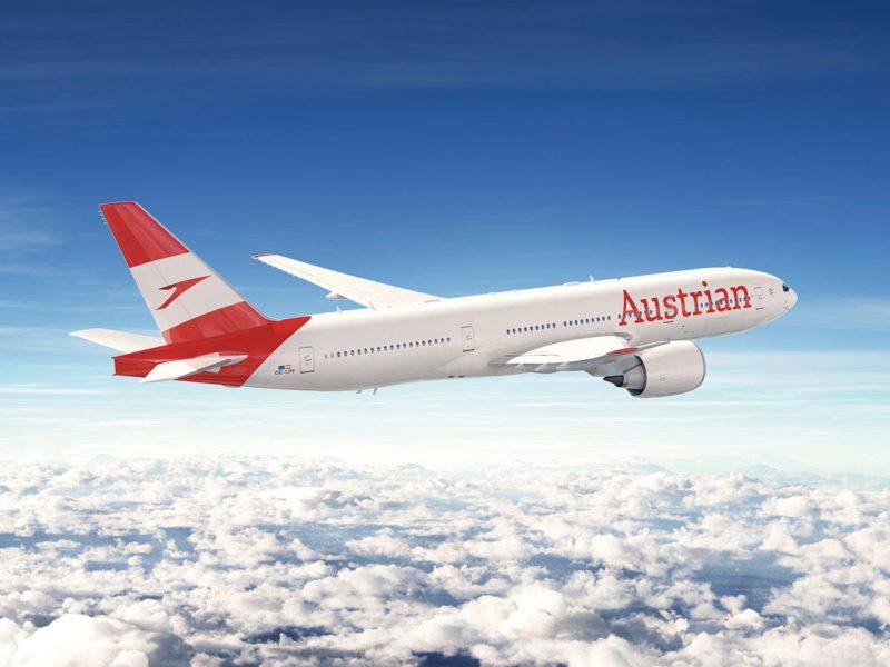 Austrian Airlines new Paintwork - Image, Austrian Airlines via FaceBook
