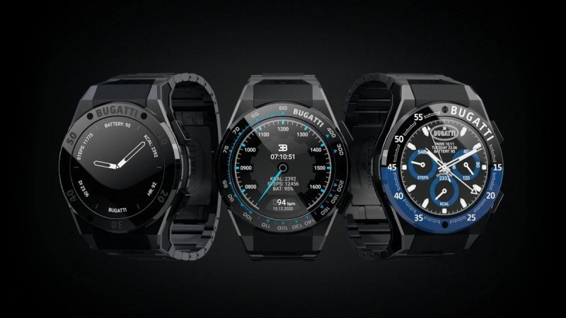 Bugatti launches smartwatches: Know specification, features and pricing