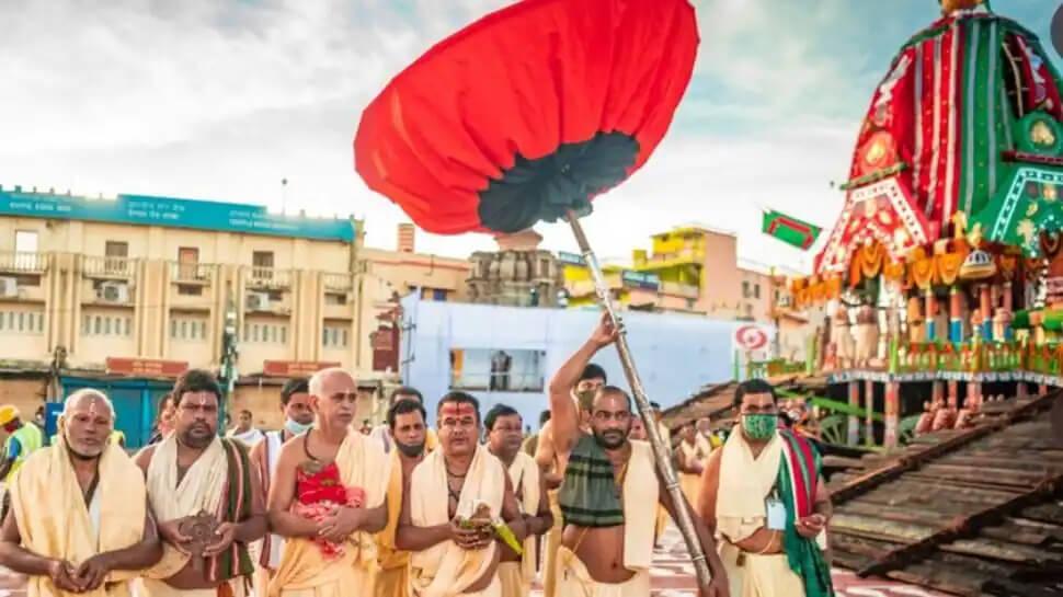 Jagannath Puri Rath Yatra 2021: Inside the celebration at Shree Jagannatha Temple amid COVID! – See pics