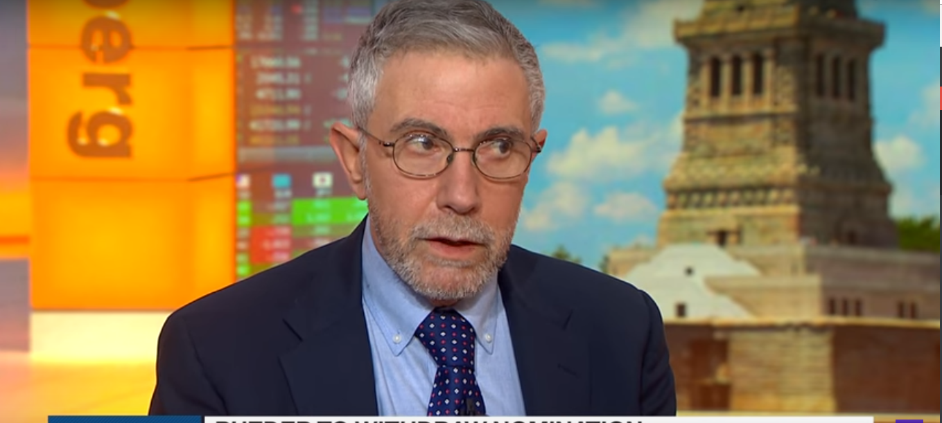 Paul Krugman on Bloomberg