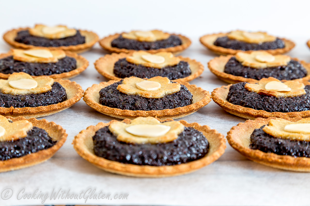 Poppy Seed Tartlets – Grain, Dairy and Sugar Free