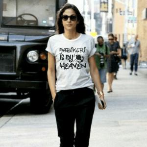 Women's round neck half sleeve tshirts