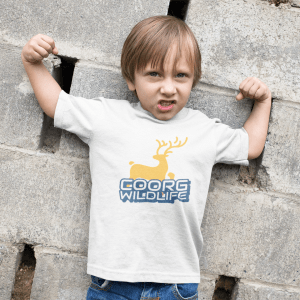 TODDLER'S ROUND NECK T-SHIRT