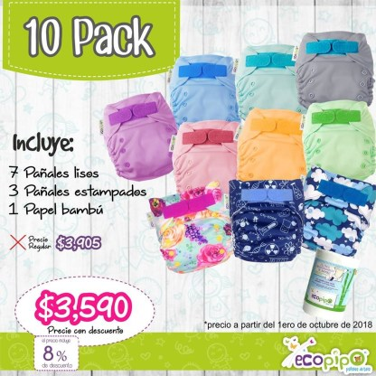 10 pack ecopipo