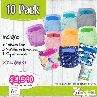 10 pack ecopipo