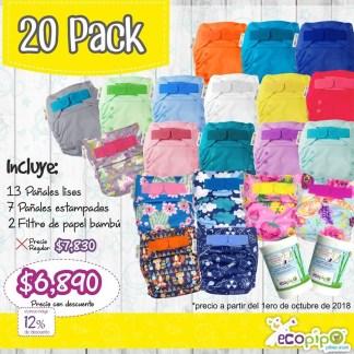 20 pack ecopipo