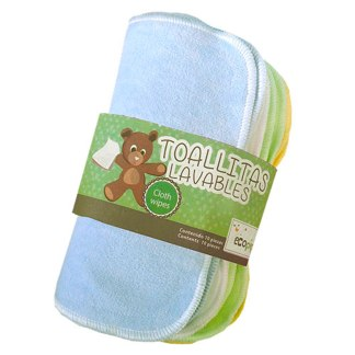 toallitas lavables niño ecopipo