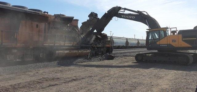 Railway Cleanup Equipment