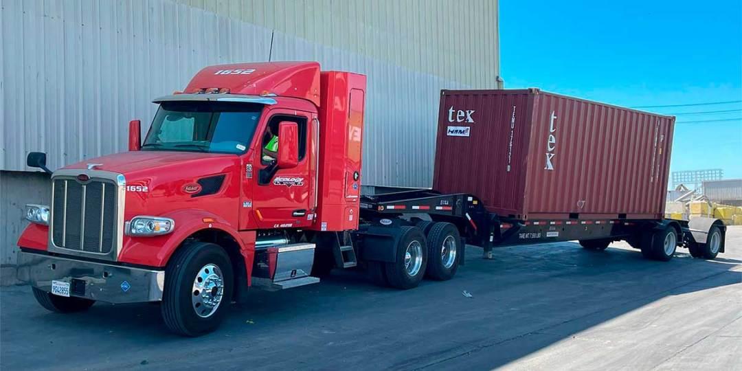 Ecology Drayage Shipping Truck