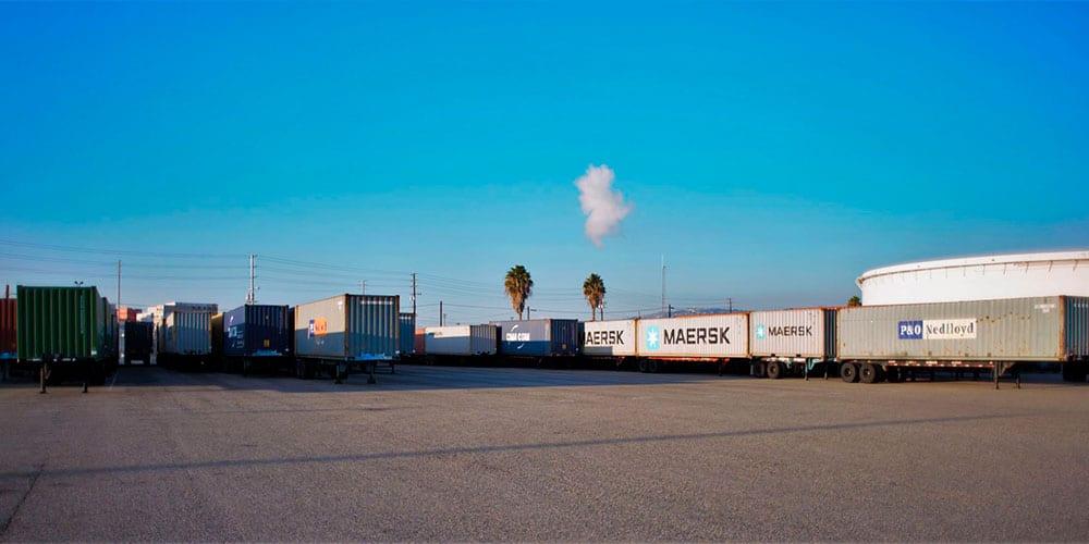 Ecology Shipping Trailer Yard