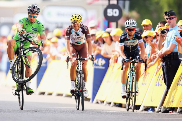 Peter Sagan - meilleur sprinter du Tour de France 2014