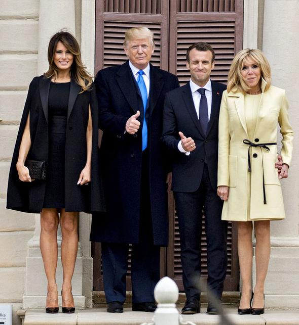 Melania Trump, en 2015, lors de la campagne de Donald Trump pour la présidentielle américaine