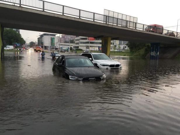 Bratislava sous les eaux