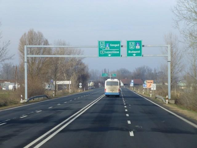 Autoroute hongroise