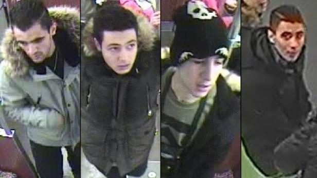 Suspects recherchés ayant mis le feu à un sans-abris dans le métro de Berlin