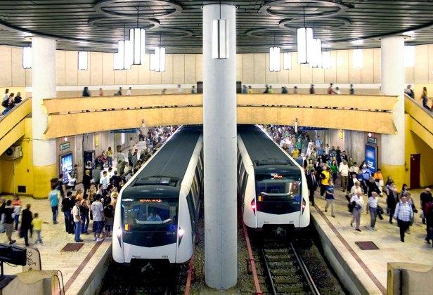 Quelque 700 000 passagers empruntent quotidiennement le métro de Bucarest.