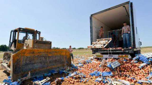 Les produits des pays sous embargo russe ont été remplacés par des produits d'autres pays.