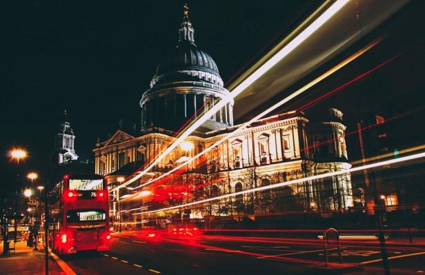 La capitale anglaise - de nuit