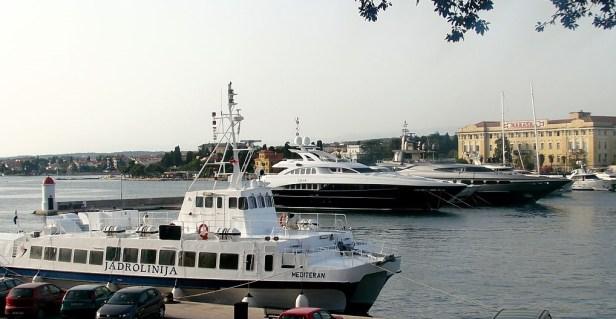 La Chine deviendra copropriétaire du port maritime de Zadar en Croatie et s'intéresse également à Rijeka pour amener ses produits en Europe.