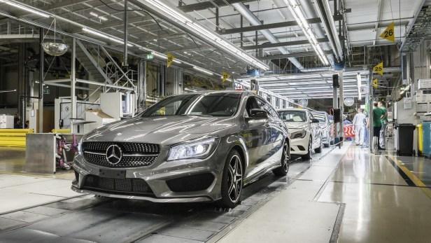 La Hongrie attire de nombreuses compagnies, comme Mercedes pour l'assemblage des modèles d'entrée de gamme