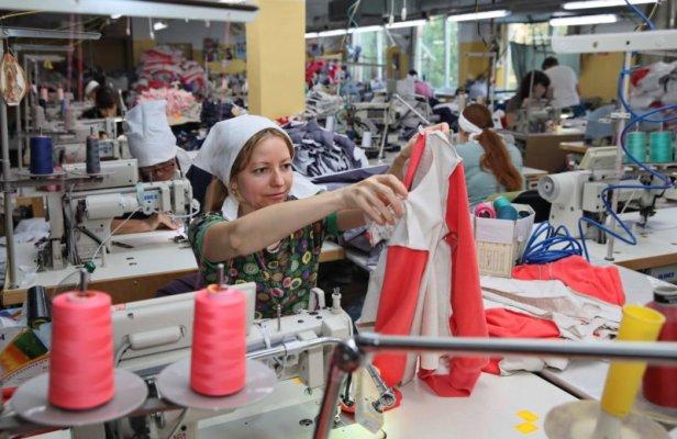 La croissance dynamique des activités textiles a commencé ici en raison de la forte demande de vêtements dans la ville.
