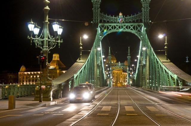 The Freedem bridge in Budapest