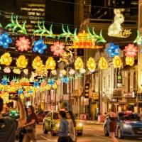 Les rues de Singapour