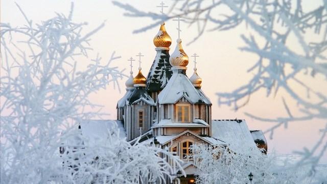 Russie en hiver