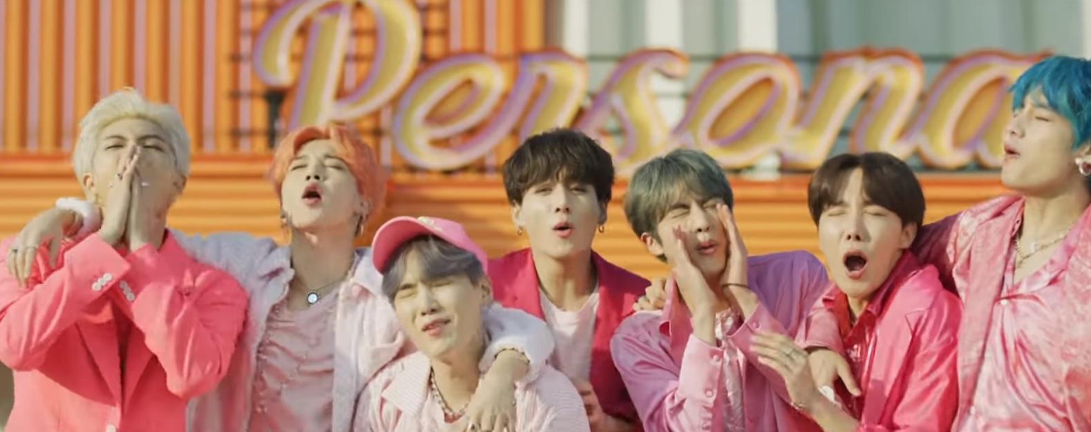 BTS, le groupe coréen  en haut de l'affiche