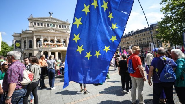 Demonstration 'A Europe for All - Your Voice Against Nationalism!' in Frankfurt am Main, Frankfurt Main, Germany - 19 May 2019